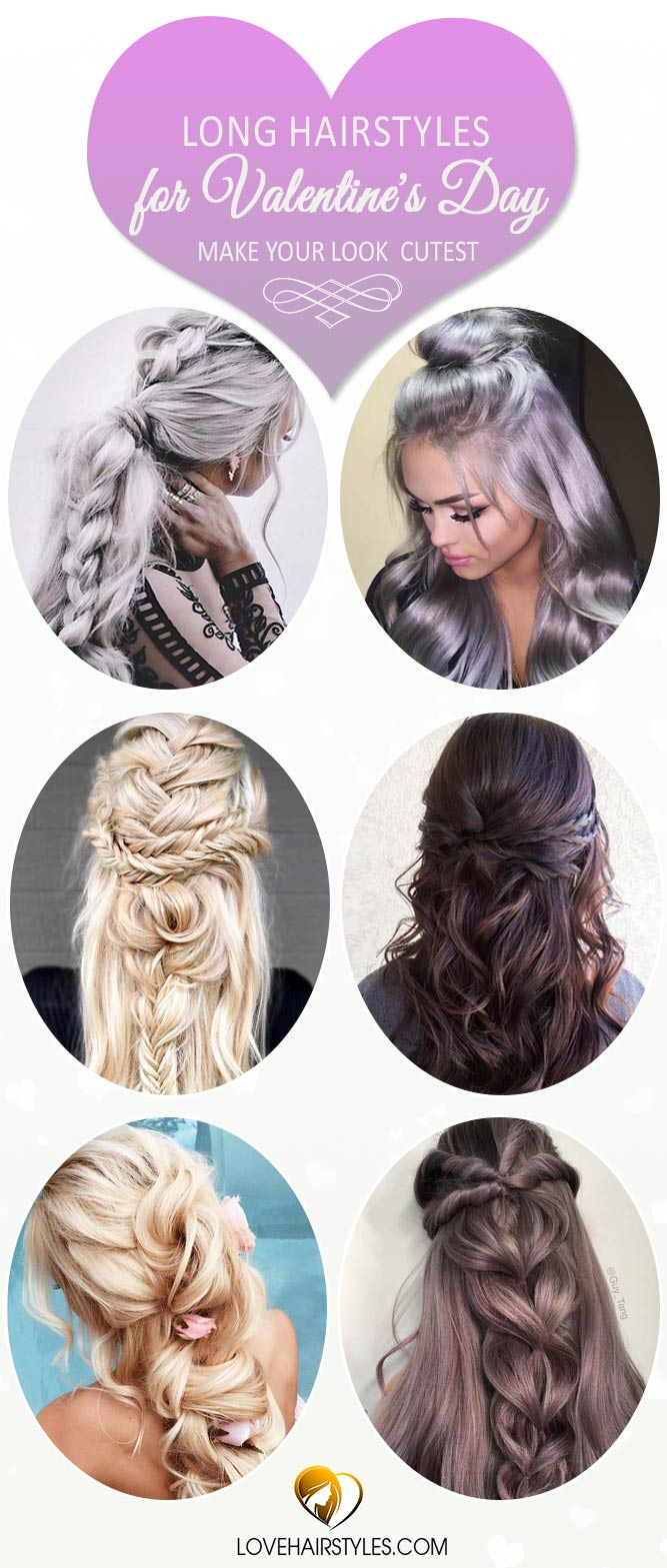 Long Hairstyles for Valentine's Day