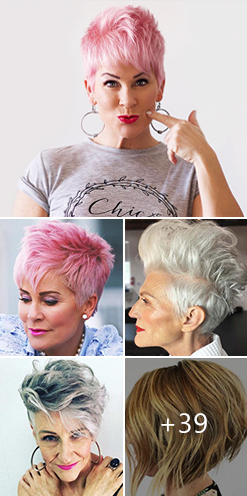 44 Stylish Short Hairstyles For Women Over 50