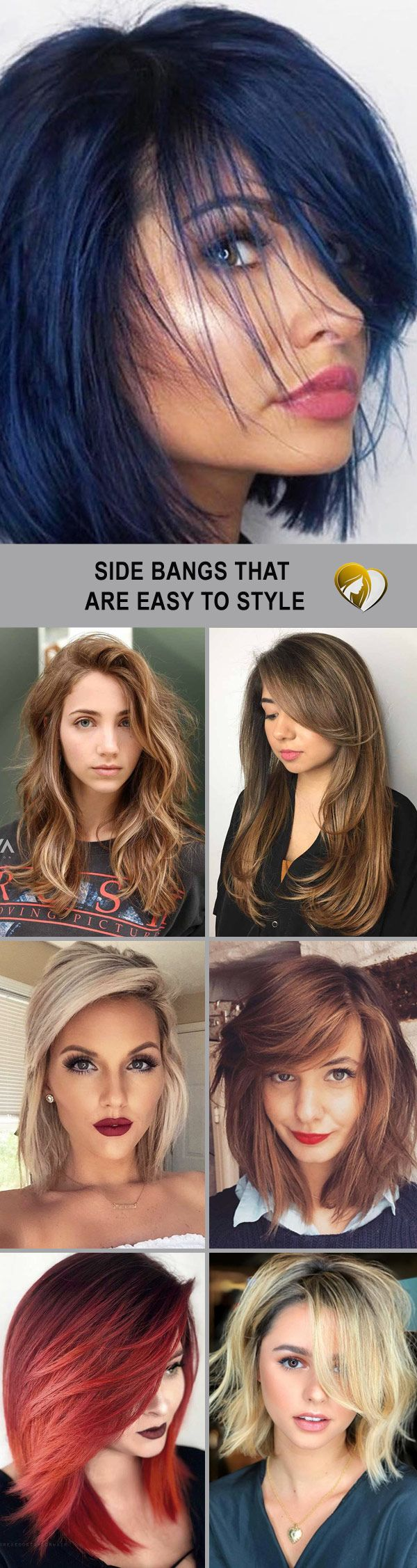 Side Bangs That Are Easy To Style