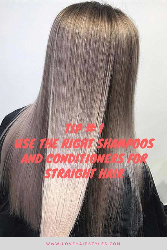 Choose Shampoo And Conditioner For Straight Hair #straighthair #hairtreatments #longhair