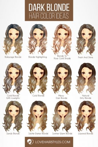 Dark Blonde Hair Color Ideas