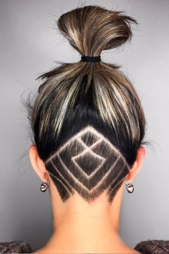 Daring and Unbelievably Hair Undercuts picture 2
