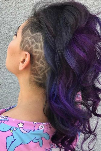 Spike-Line Hair Tattoo picture 1