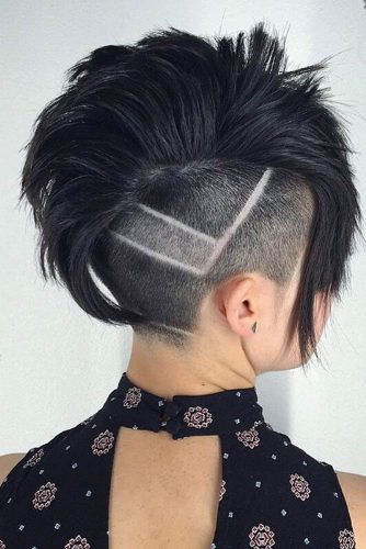 Spike-Line Hair Tattoo picture 3