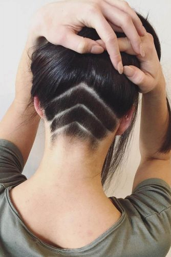 Daring and Unbelievably Hair Undercuts picture 1