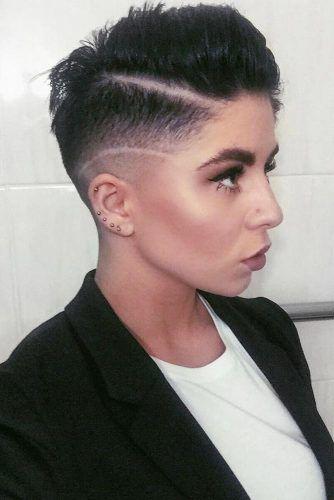 Undercut Fade Pixie #undercuthairstyles #hairstyles #fadehaircut #pixiehaircut
