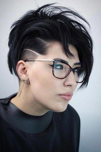 Black Creative And Outstanding Undercut Hairstyle #undercuthairstyles #hairstyles #undercutdesign