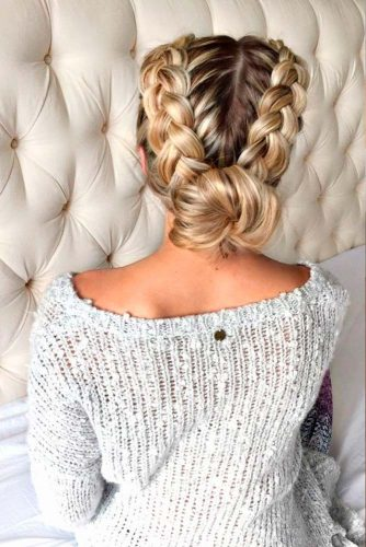 Pretty Braided Long Hair Hairstyles picture 2