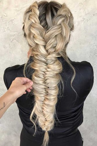 Pretty Braided Long Hair Hairstyles picture1