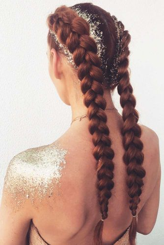 Double Dutch Braids Ideas #braids