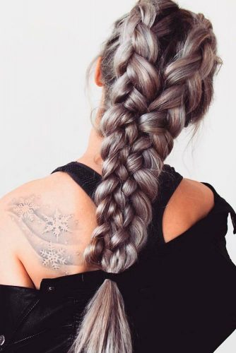 Beautiful Hairstyles with Double Btaids picture 1