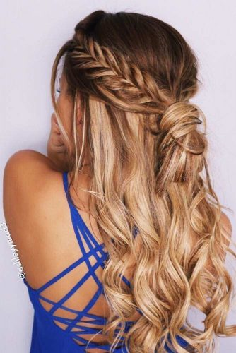 Braided Curly Hair picture 2
