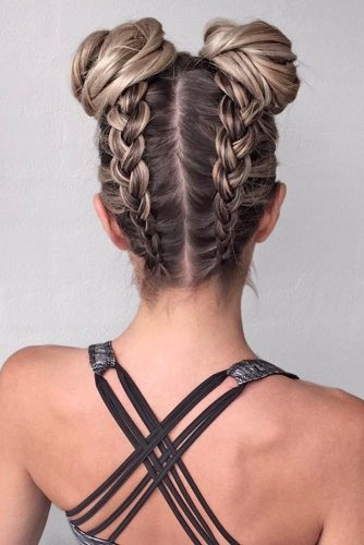 Pretty Braided Updo Hairstyles to Rock picture 2