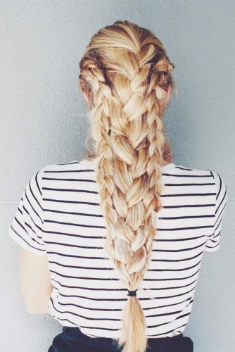 Gorgeous Braided Hairstyles for Thick Hair picture 2