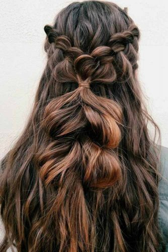 Romantic Messy Braided Hairstyles picture 2