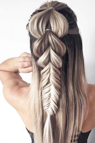 Trendy Pull Through Braid Hairstyles picture 3
