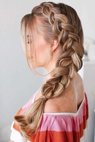 Cute And Easy Hairstyles With Braids #braids #longhair