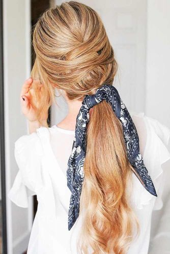 Upgraded Ponytails With Braided Hairstyles Criss Cross #braids #ponytail