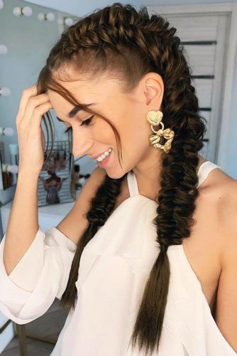 Perfect Double Braids #braids #longhair