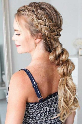 Double Dutch Pull Through Braid #braids #longhair