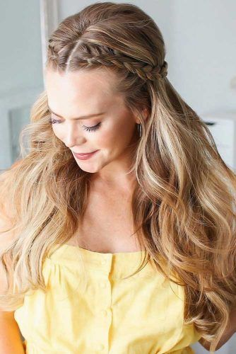Double Front Dutch Braids #braids #longhair