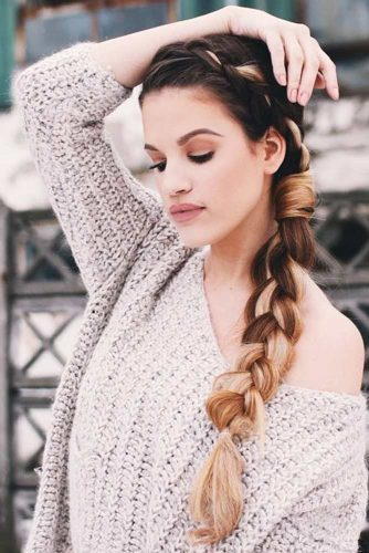 Side Dutch Braid #braids #dutchbraid