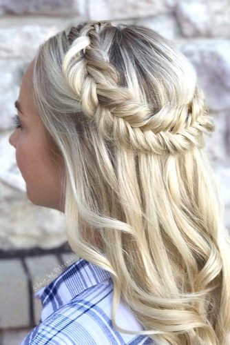 Popular Styles: Simple, Waterfall, and Fishtail Crown picture3