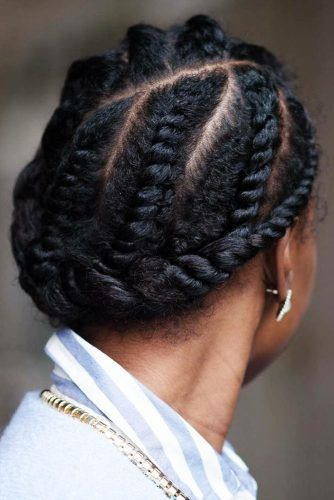 What is a flat twist? #braids #longhair