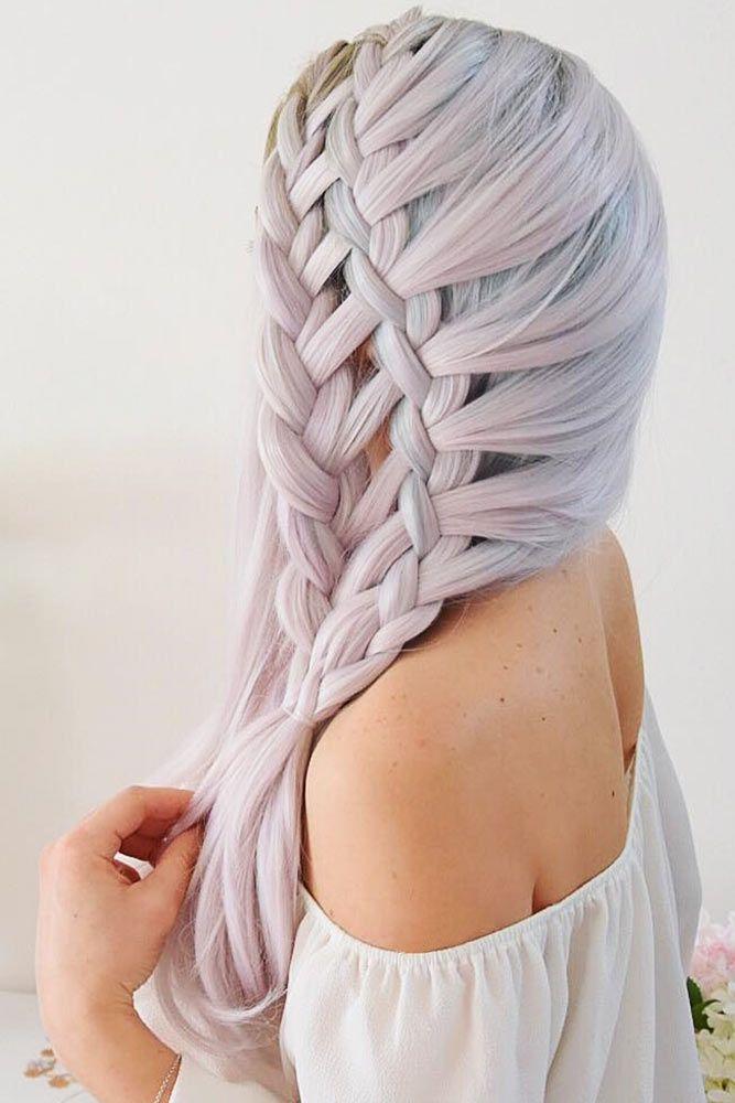 Waterfall Braid #braids #longhair