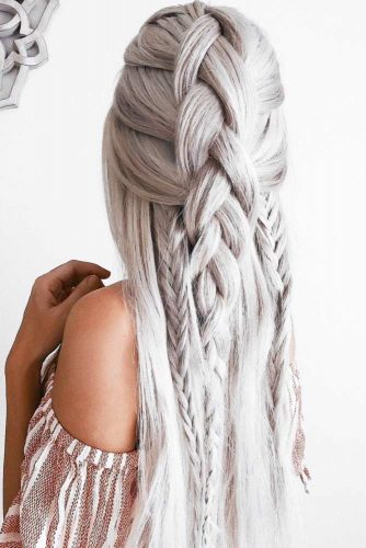 Romantic Messy Braided Hairstyles picture 3