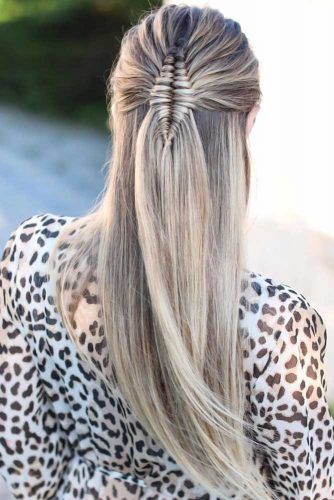 Cool Half Braided Hairstyles Infinity #braids #longhair