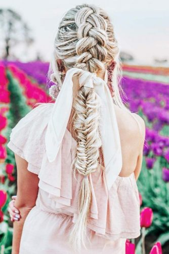 Fishtail Braid #braids #fishtailbraid #ponytail