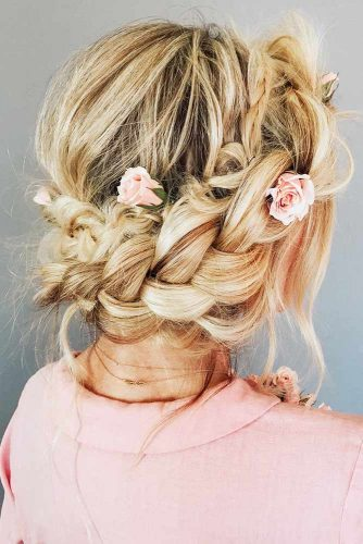 What Is A Halo Braid #braid #updo #halobraid