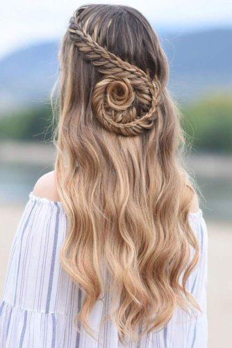Lace Braid #braids #lacebraid #longhair