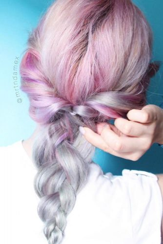 Popular Styles: Simple, Waterfall, and Fishtail Crown picture1