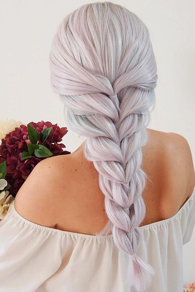 Trendy Pull Through Braided Hairstyles #braids #longhair