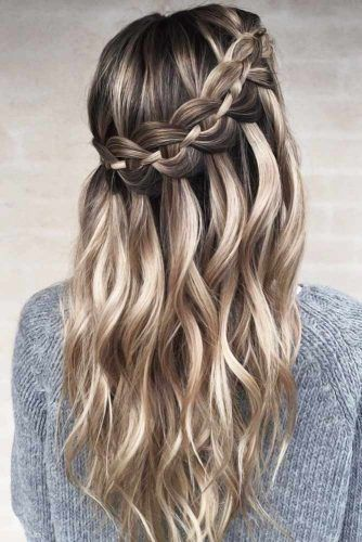 Charming Braided Crowns Stacked #braids #longhair