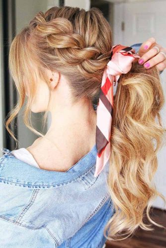Twisted Rope Braid #braids #twistbraid