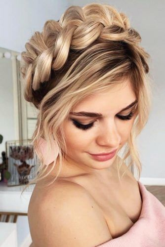 Popular Styles: Big Side Braid, Double Fishtail, And Full Crown #braids #longhair