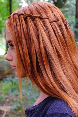 Popular Styles: Simple, Waterfall, and Fishtail Crown picture2