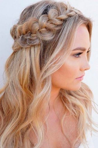 Braided Half Up Half Down Hairstyles picture 3