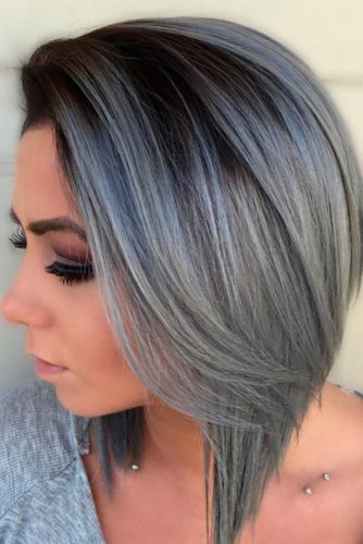 Grey Hair Color Ideas picture 1