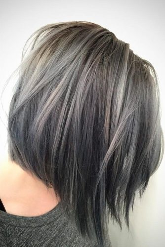 Cute Short Grey Hairstyles picture 3