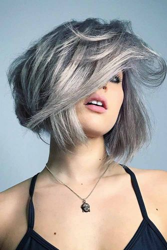 Cute Short Grey Hairstyles picture 1