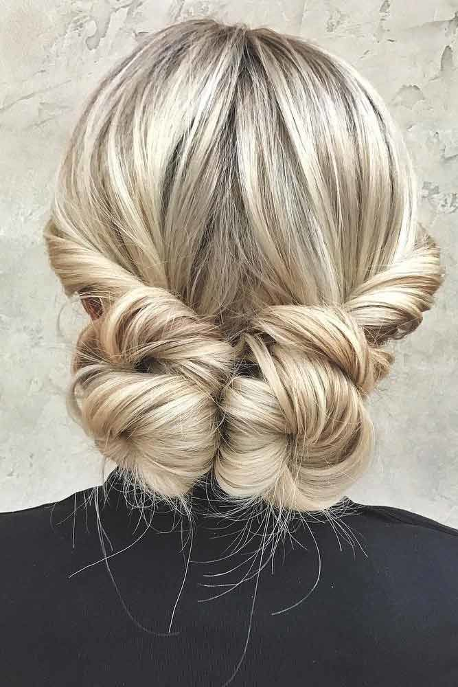 Low Bun Updos Which Are Perfect For Any Occasion Double #straighthair #straighthairstyles