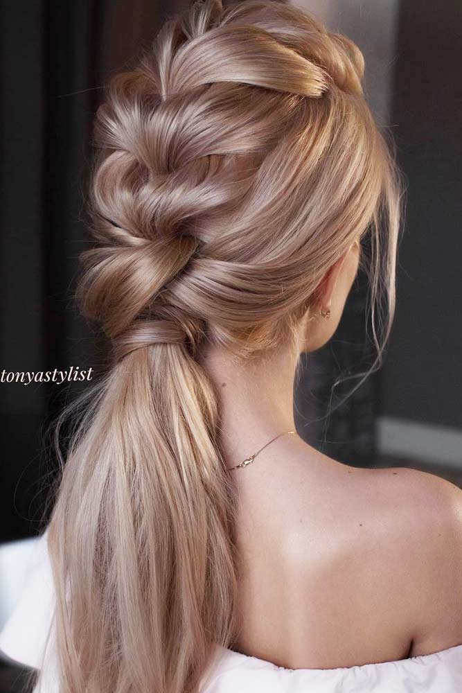 Braid Into Ponytail #straighthairstyles #longhair #hairstyles