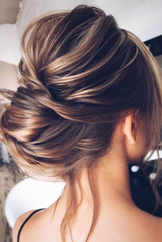 Low Bun Updos Which Are Perfect For Any Occasion Brunette #straighthair #straighthairstyles