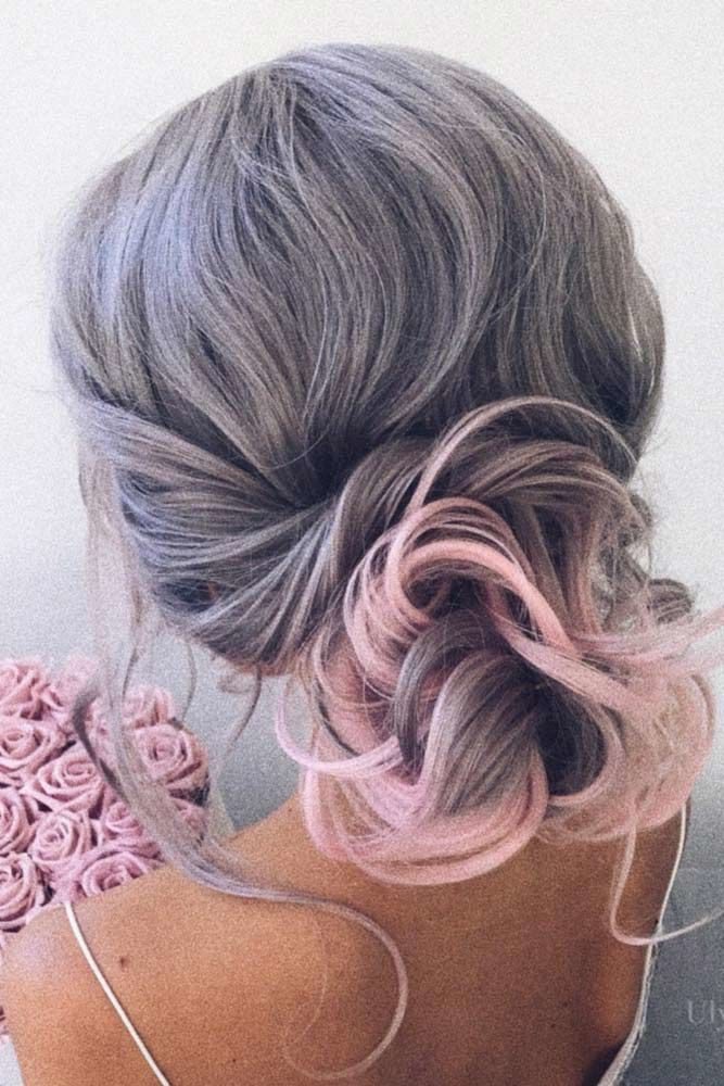 Low Bun Updos Which Are Perfect For Any Occasion Lavender #straighthair #straighthairstyles