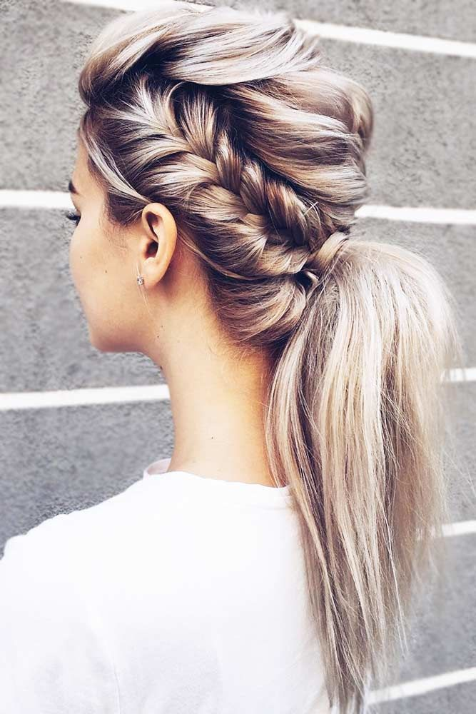 Lovely Low Ponytail Hairstyles For Long Straight Hair #straighthair #straighthairstyles