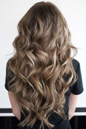 Curly Dark Blonde Hair picture1